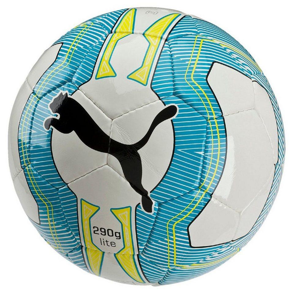 PUMA evoPower Lite 3 Trainingsball in weiß / blau / gelb