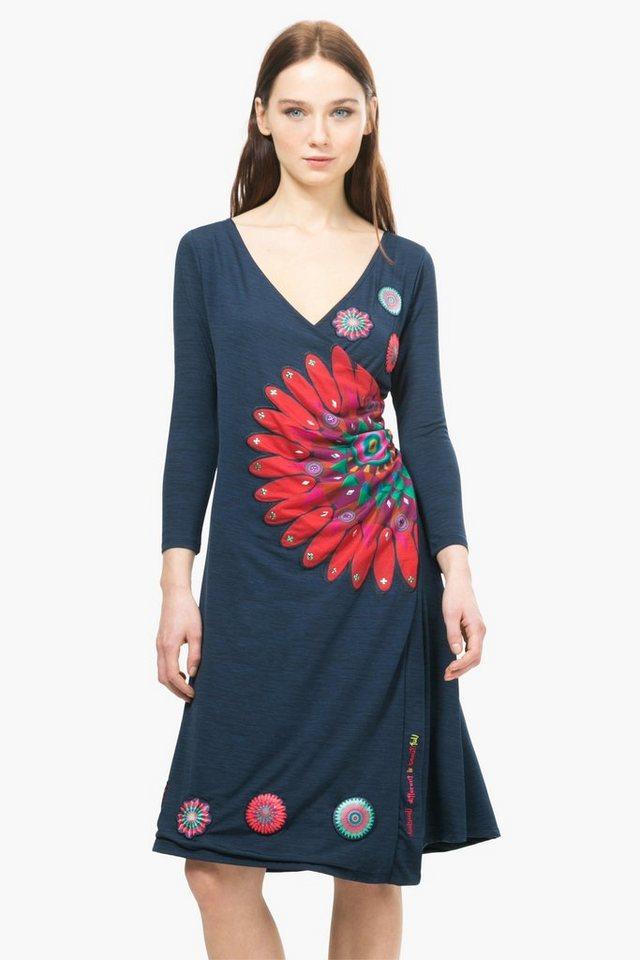 Desigual Kleid »VEST DEMETRIUS« in blau
