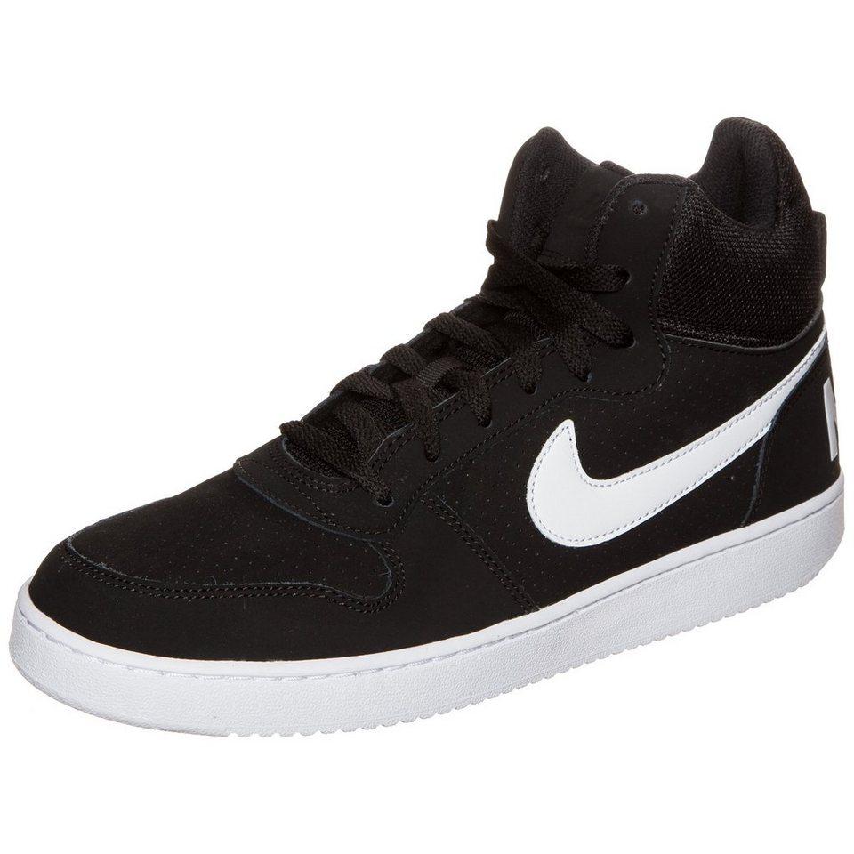 Nike Sportswear Court Borough Mid Sneaker Herren in schwarz / weiß