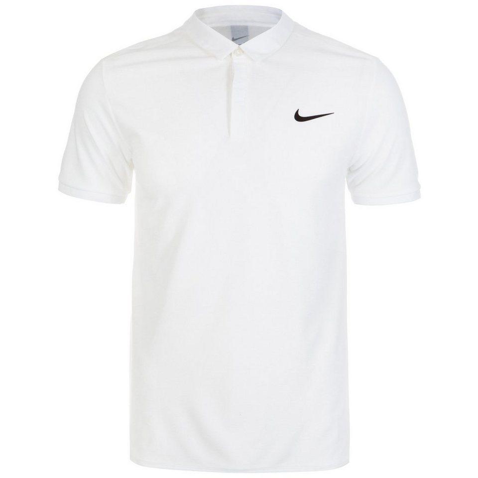 NIKE Advantage Roger Federer Tennispolo Herren in weiß