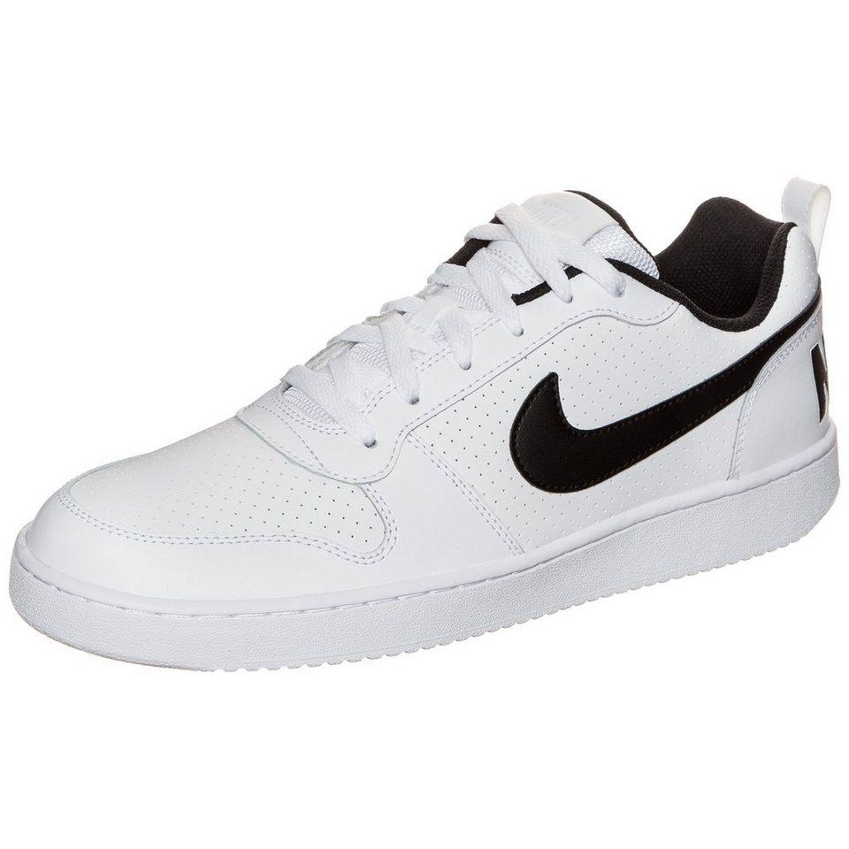 Nike Sportswear Court Borough Low Sneaker Herren in weiß / schwarz