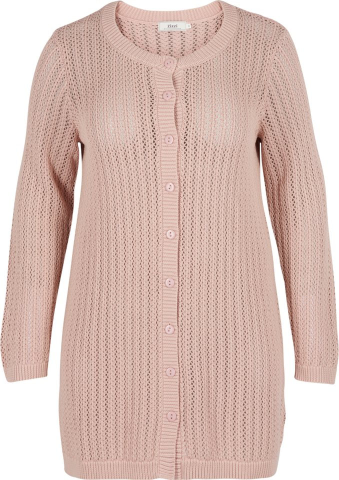 Zizzi Cardigan in Rose Dust
