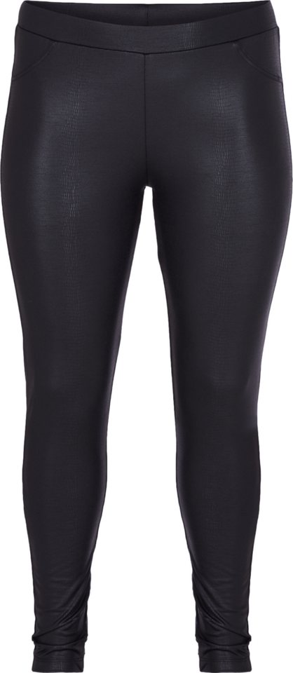 Zizzi Leggings in Black Combo