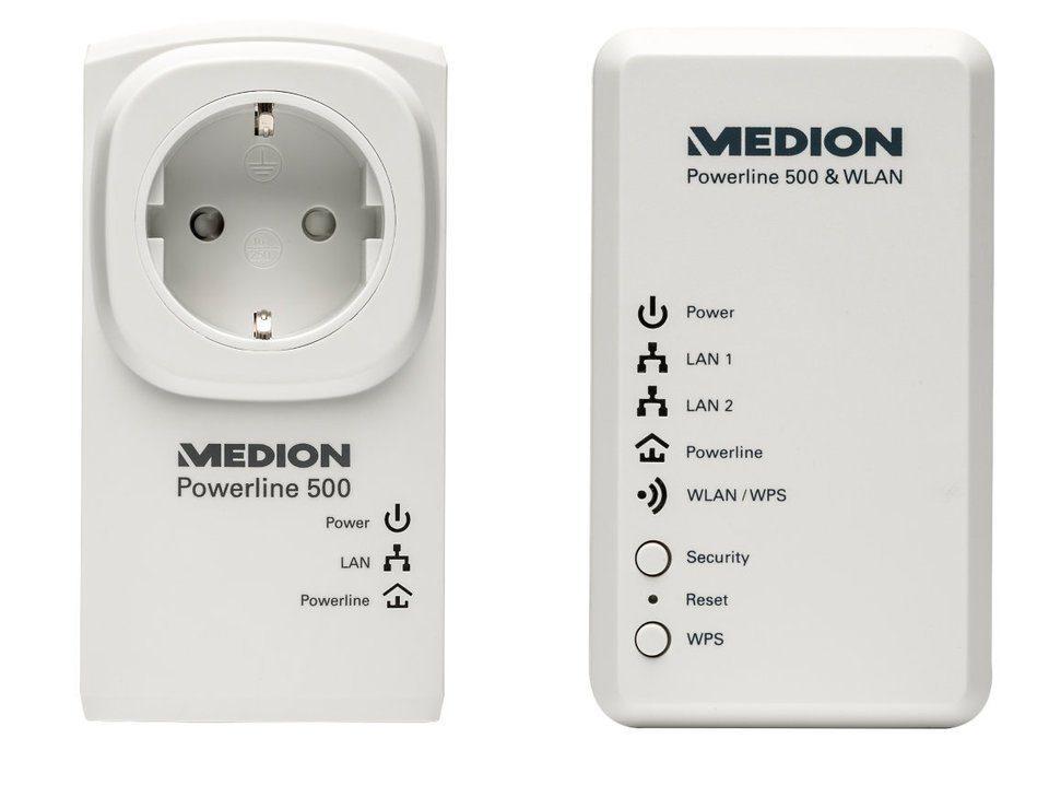 MEDION® Powerl. WLAN Set »P85150 (MD 90222)«
