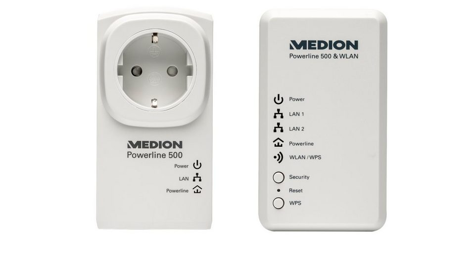MEDION® Powerl. WLAN Set »P85150 (MD 90222)«