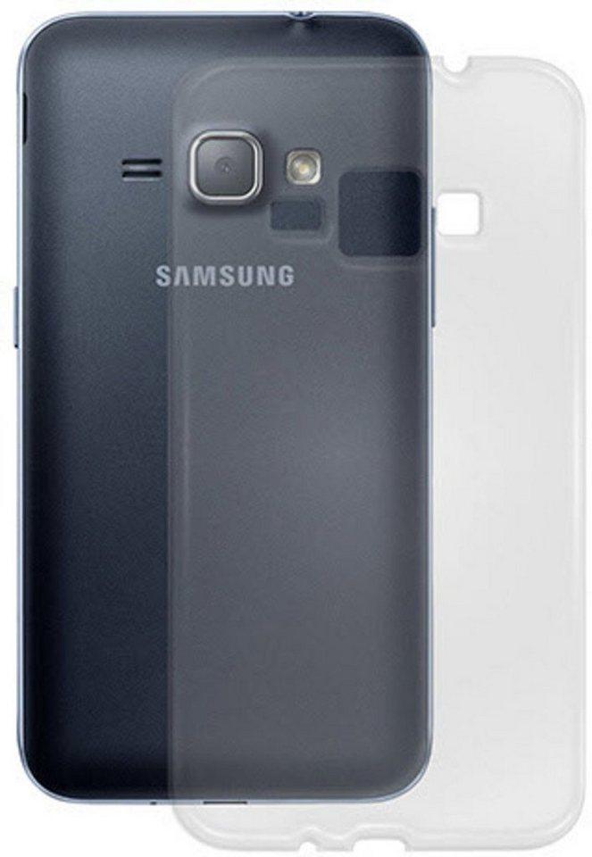 PEDEA Handytasche »Soft TPU Case (glatt) für Galaxy J1 2016« in Transparent