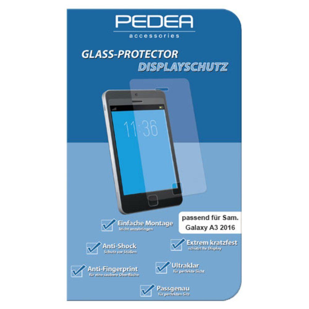 PEDEA Folie »Glasschutzfolie für Samsung Galaxy A3«