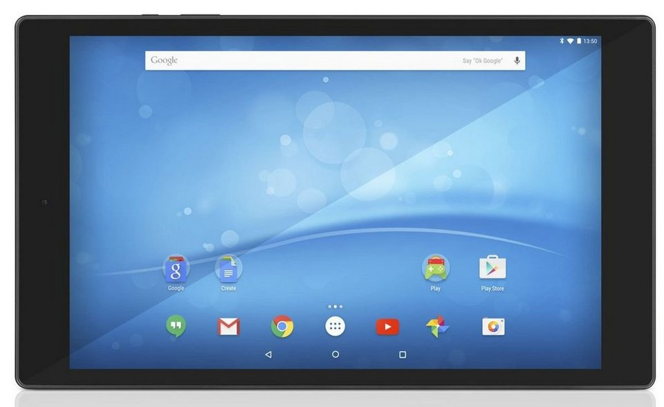 TrekStor Tablet »SurfTab breeze 9.6 quad 3G« in Schwarz-Silber