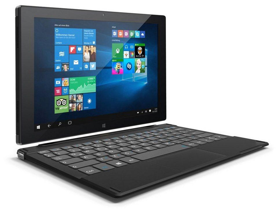 Odys Tablet mit Tastatur »Duo Win 10 plus 3G« in Schwarz