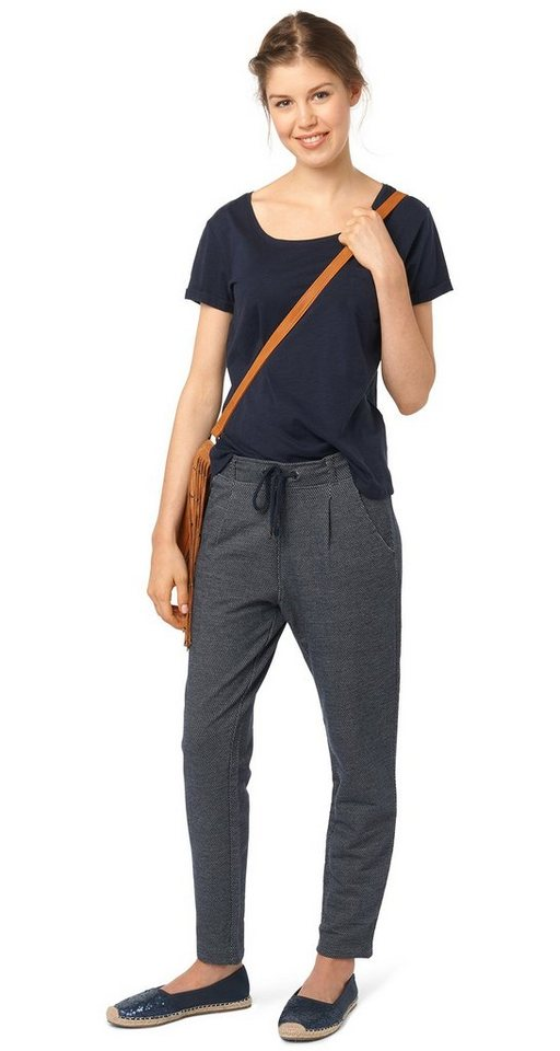 TOM TAILOR DENIM Hose »elegante Sweathose« in sky captain blue