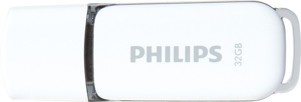Philips USB 2.0 Stick 32GB, Snow Edition, White, Grey