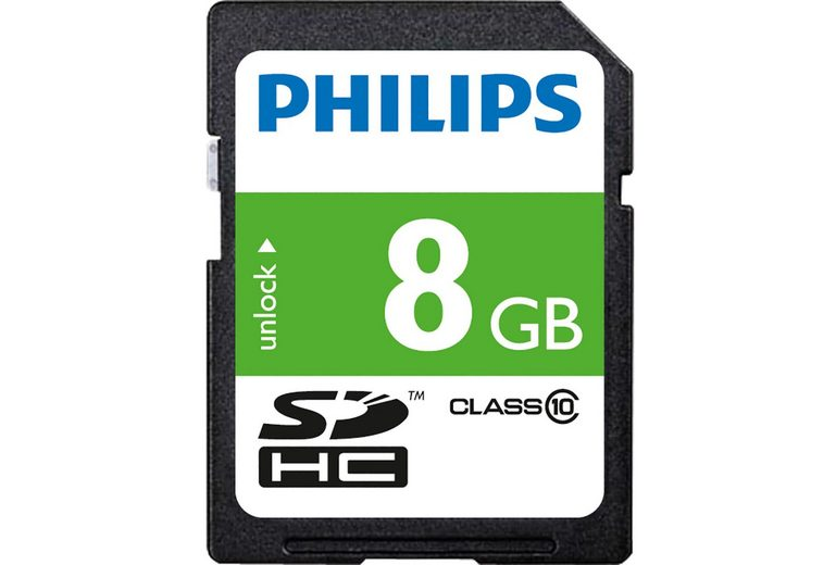 Philips SDHC-Card 8GB, Class 10