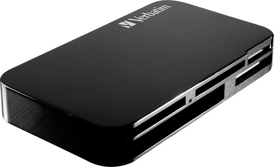 Verbatim USB Card Reader Universal in black