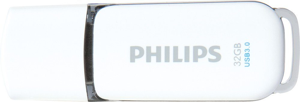 Philips USB 3.0 Stick 32GB, Snow Edition, White, Grey