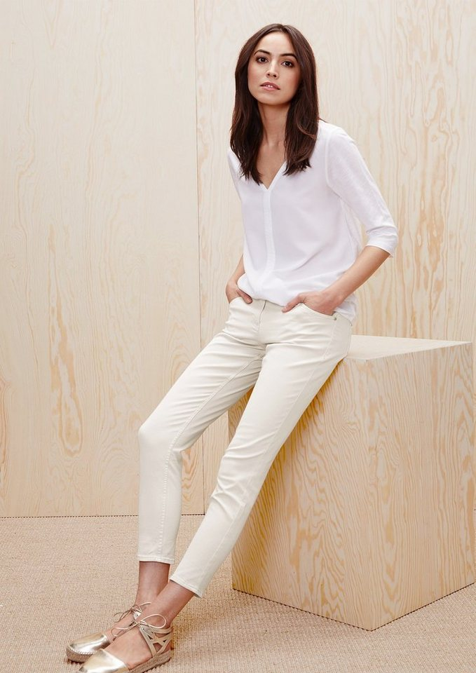 s.Oliver RED LABEL Shape Ankle: 7/8-Stretch-Jeans in daisy denim stretch