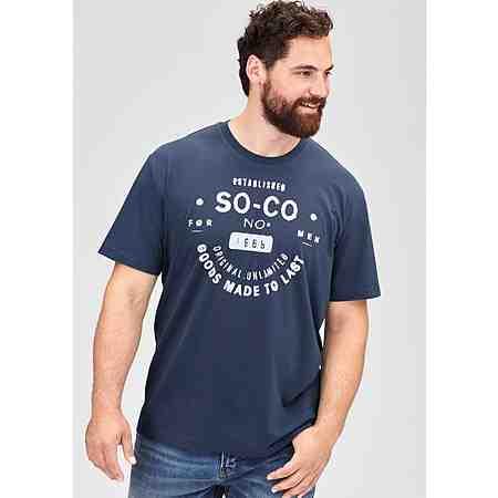 s.Oliver T-Shirt mit Logo-Print