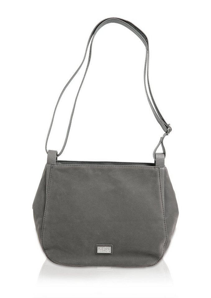s.Oliver City Bag mit Kontrasten in limestone