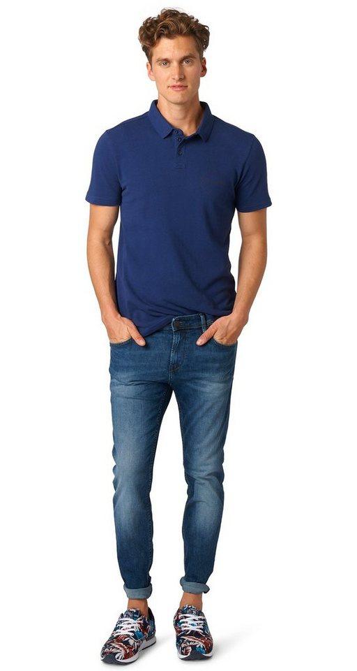 TOM TAILOR DENIM Jeans »Denim mit leichter Waschung« in mid stone wash denim