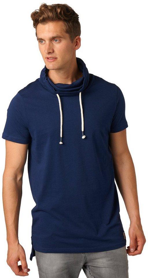 tom tailor denim t shirt longline shirt mit stehkragen online kaufen otto. Black Bedroom Furniture Sets. Home Design Ideas