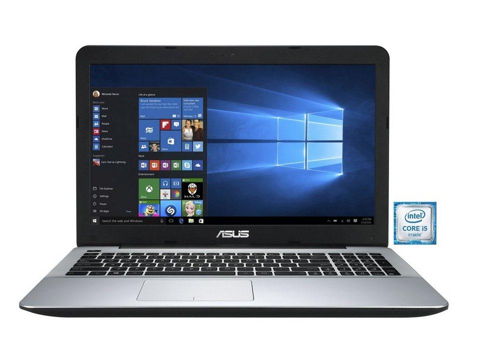 "ASUS F555UB-XO043T Notebook »Intel Core i5, 39,6cm (15,6""), 1 TB HDD, 8 GB« in schwarz"