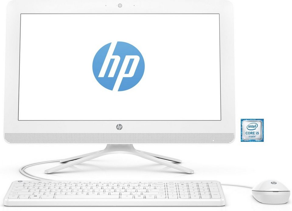 "HP 24-g051ng AIO »Intel Core i5, 60,45cm (23,8""), 1 TB HDD, 8 GB« in weiß"