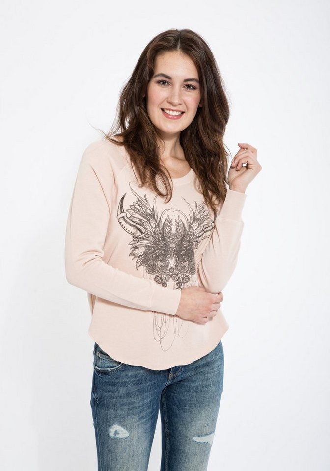 Mexx Sweatshirt in rosa
