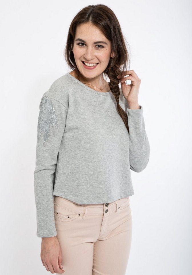 Mexx Sweatshirt in grau