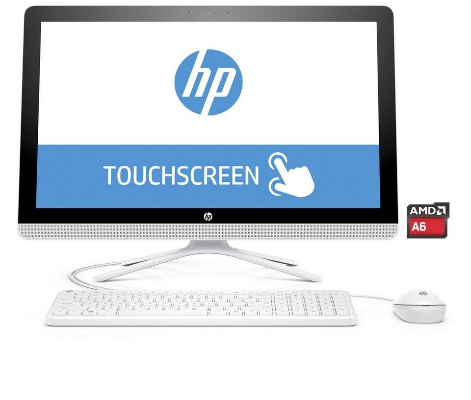 """HP 22-b052ng AIO »AMD A6-7310, 54,6cm (21,5""""), 1 TB SSHD, 4 GB« in weiß"""