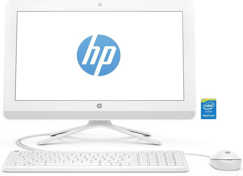 "HP 22-b051ng AIO »Intel Pentium J3710, 54,6cm (21,5""), 1 TB HDD, 4GB« in weiß"