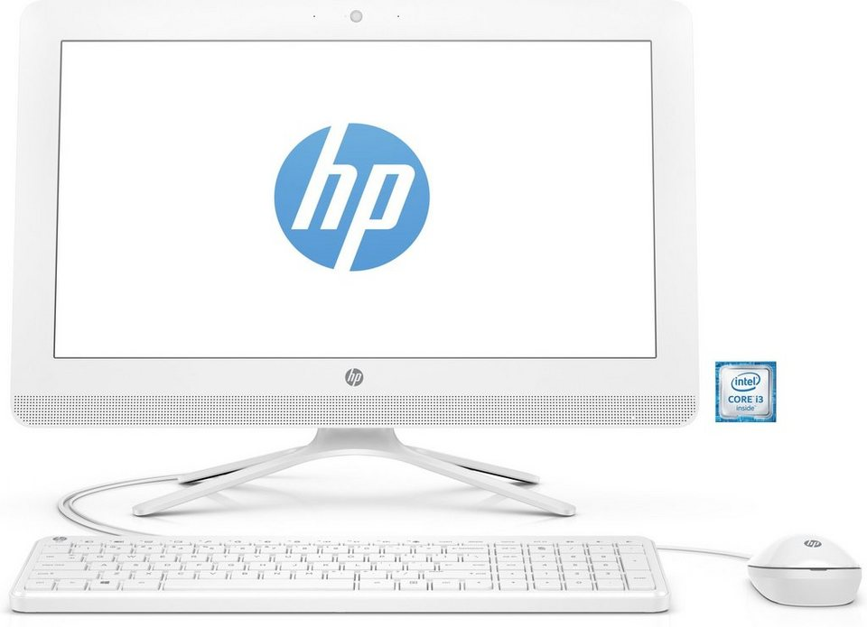 "HP 22-b054ng AIO »Intel Core i3, 54,6cm (21,5""), 1 TB HDD, 4 GB« in weiß"