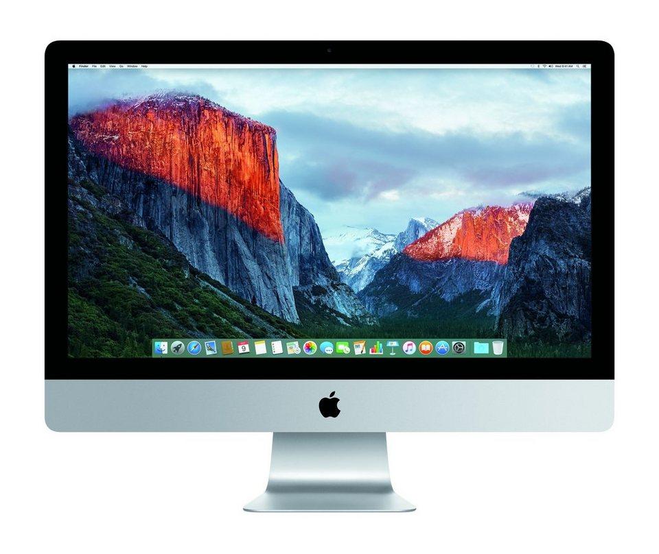 "APPLE CTO iMac Retina »Intel Core i5, 68,6cm (27""), 256GB SSD, 8GB« in silber"