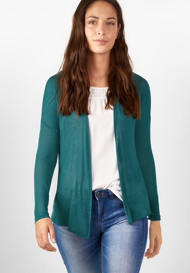 Street One Leichter Cardigan Filvia in paradise green