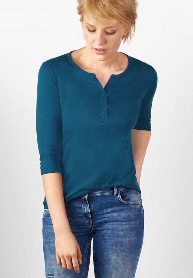 CECIL 3/4-Arm Shirt Amelie in celestial blue