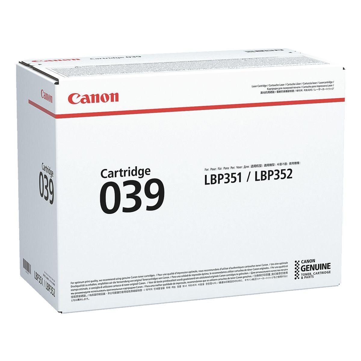 Canon Tonerpatrone »039«