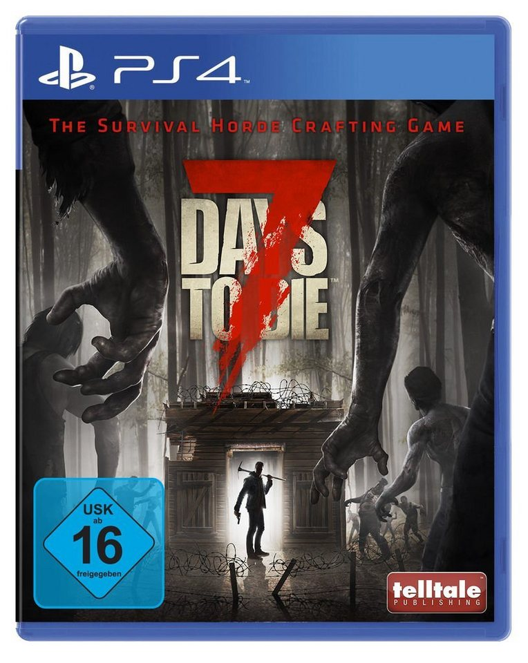 telltale games playstation 4 spiel 7 days to die. Black Bedroom Furniture Sets. Home Design Ideas