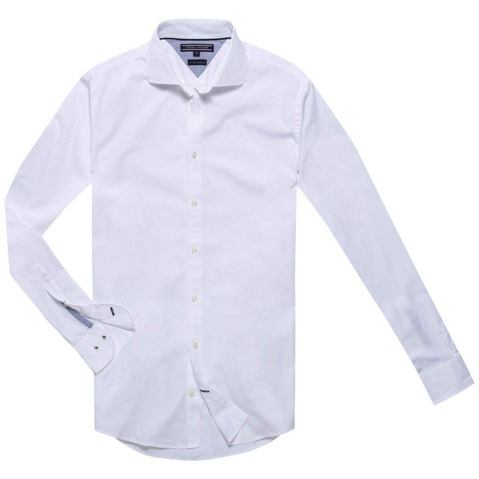 Tommy Hilfiger Hemden »80S TWOPLY POPLIN NFW6« in CLASSIC WHITE