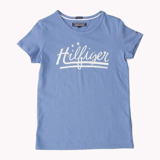 Tommy Hilfiger S/S T-Shirts »SOPHIA CN KNIT S/S« in Blue Bonnet
