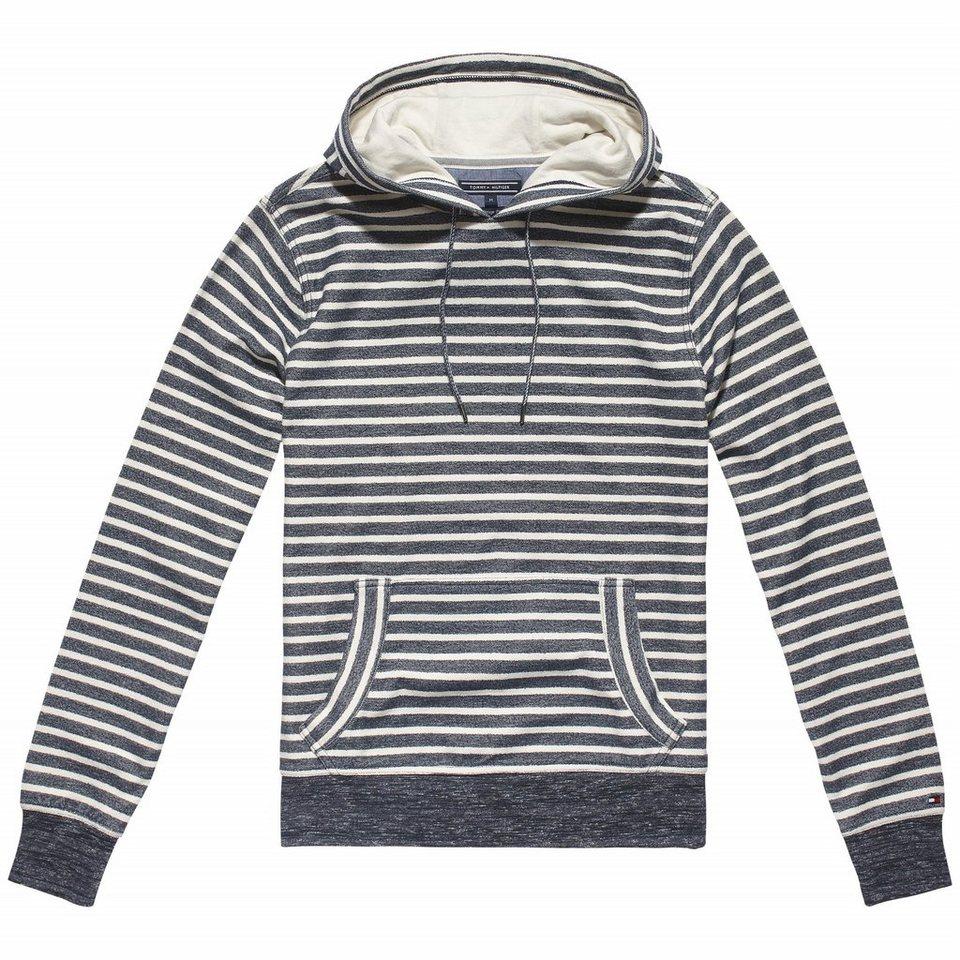 Tommy Hilfiger Sweatshirts »ADDISON STP HDD L/S VF« in NAVY / WHITE