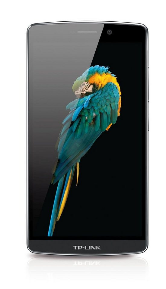 """TP-LINK Neffos C5 Max Smartphone inkl. Powerbank »Octa-Core, 14cm (5,5""""), 16GB, 2GB, Android 5.1« in grau"""