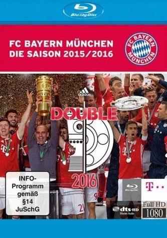 Blu-ray »FC Bayern München - Saison 2015/2016, 1 Blu-ray«