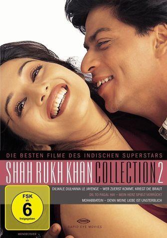 DVD »Shahrukh Khan Collection 2 (3 Discs)«