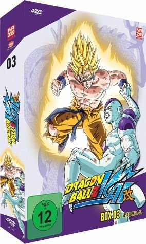 DVD »Dragonball Z Kai - Box 3 (4 Discs)«