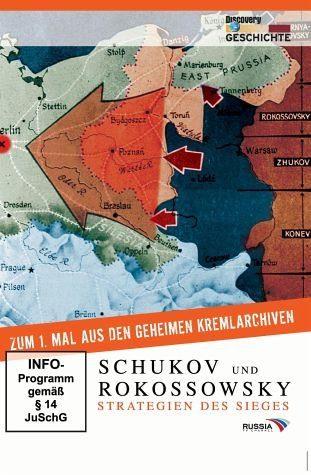 DVD »Discovery Geschichte - Schukov und Rokossowsky«