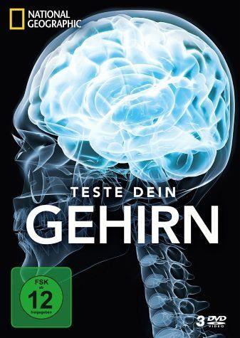DVD »National Geographic - Teste dein Gehirn (3 Discs)«