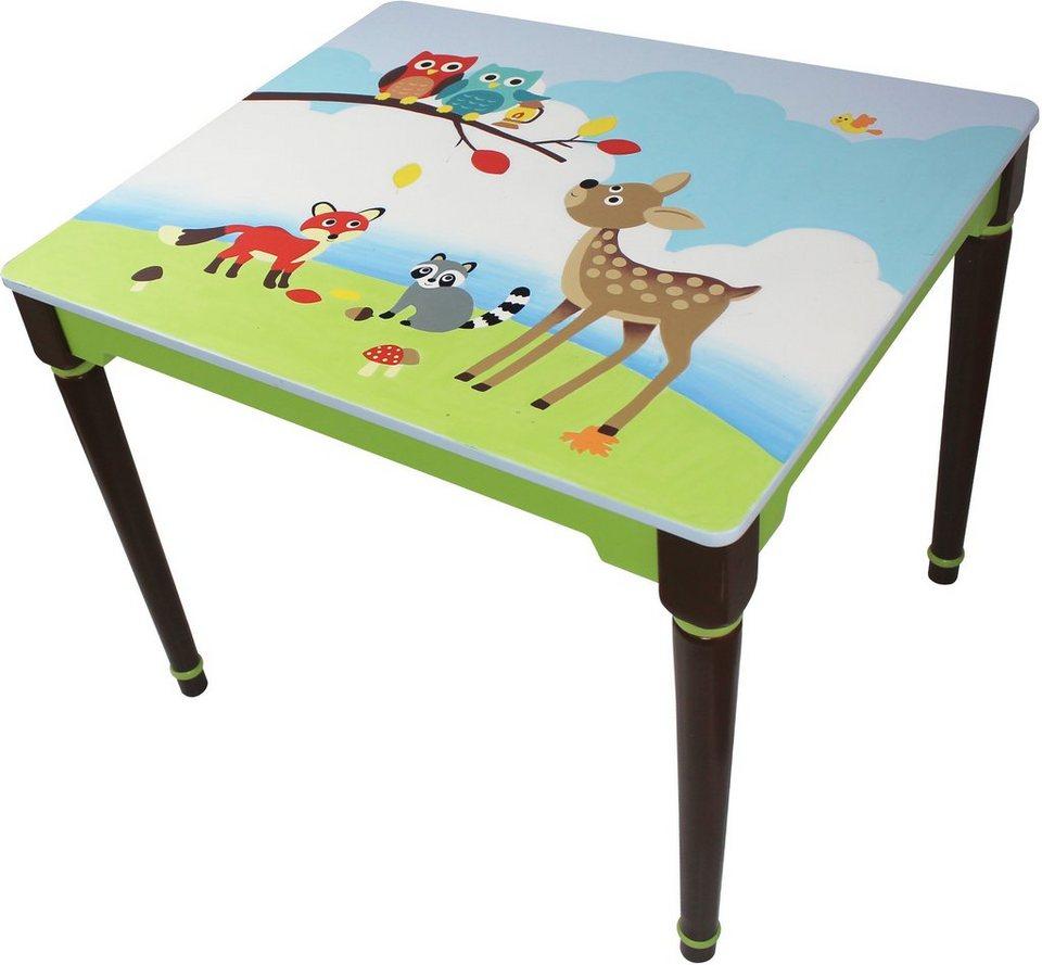 Fantasy Fields™, Tisch mit Handbemalung, »Woodland«