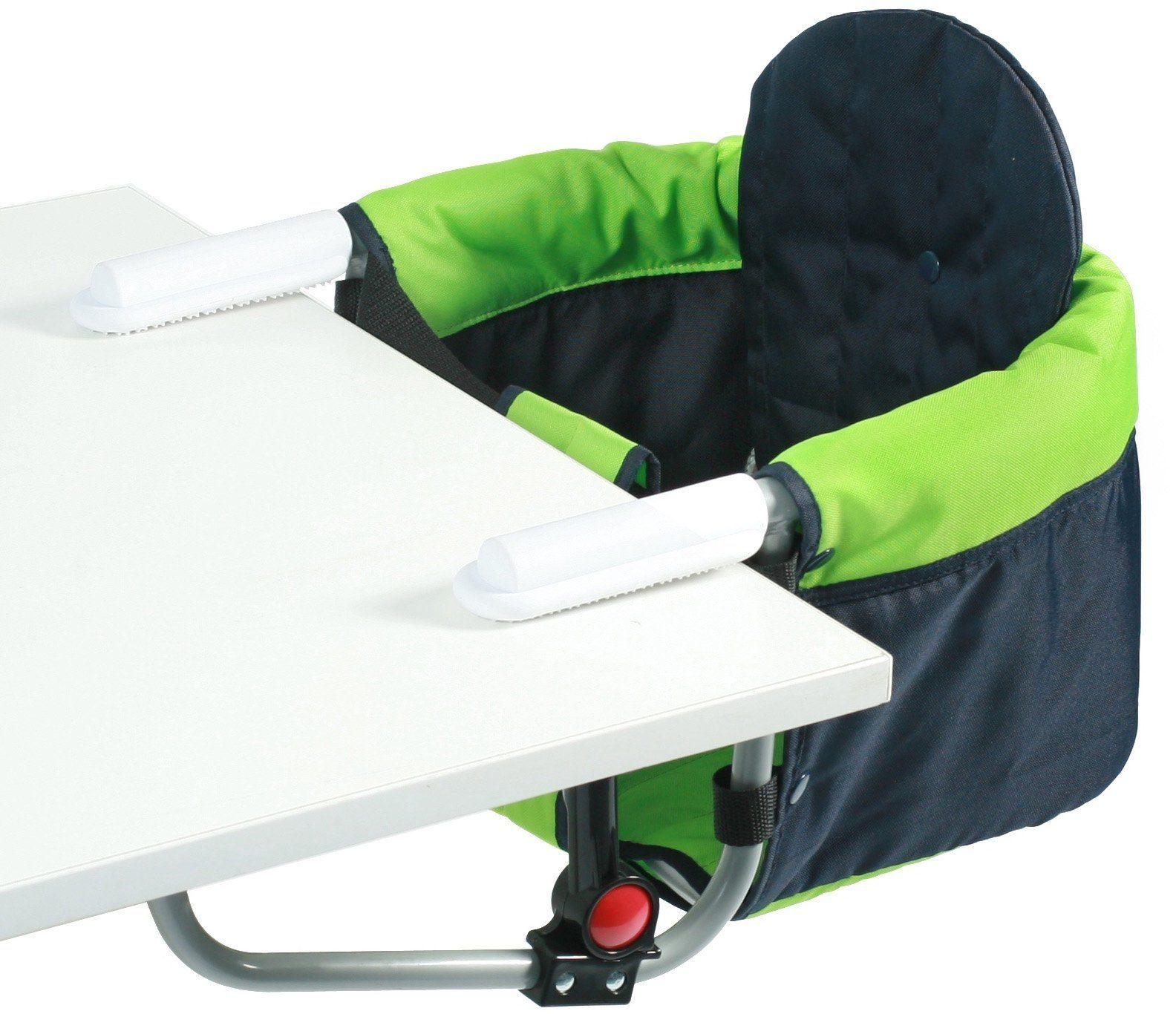 CHIC4BABY Tischsitz mit universellem Befestigungssystem, »Relax green/navy«