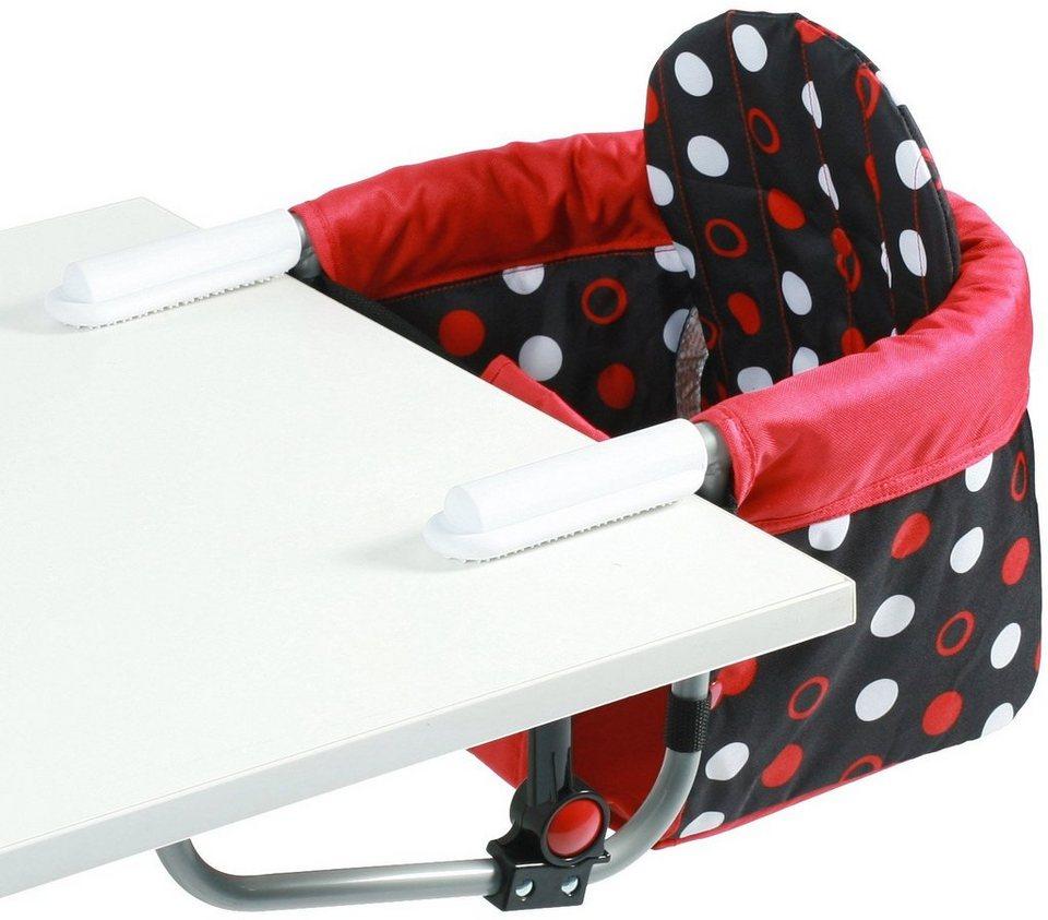 CHIC4BABY Tischsitz mit universellem Befestigungssystem, »Relax dots« in dots
