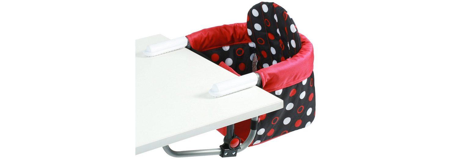 CHIC4BABY Tischsitz mit universellem Befestigungssystem, »Relax dots«