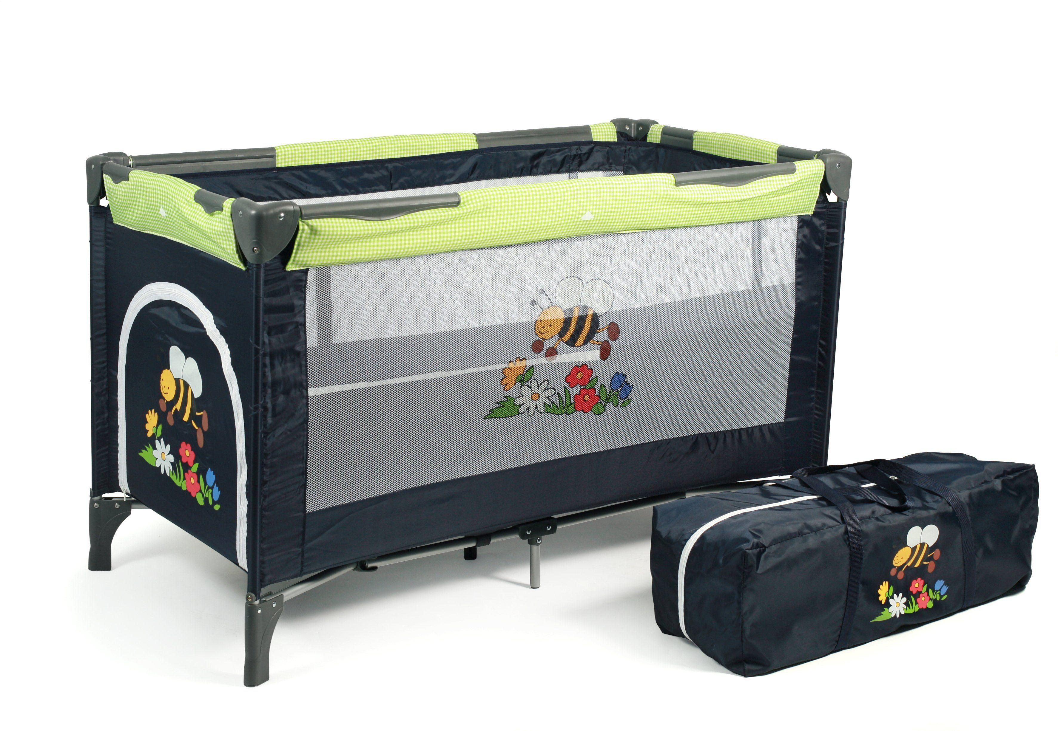 CHIC4BABY Reisebett mit Transporttasche, »Luxus bumblebee«