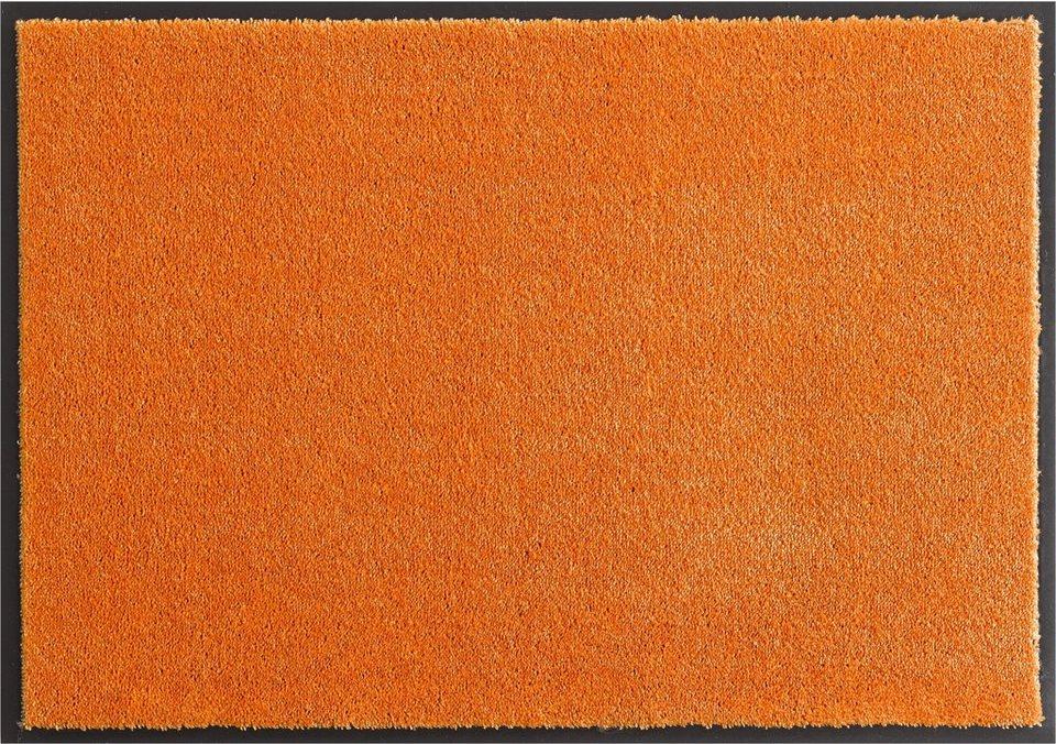 Fußmatte, Hanse Home, »Deko Soft«, waschbar, getuftet in orange